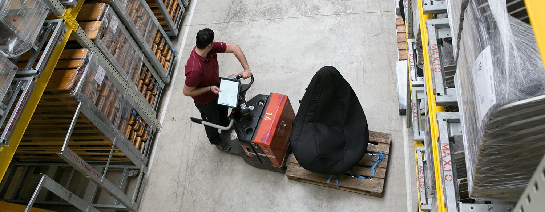 Lagerprofis bewegen mehr als Waren