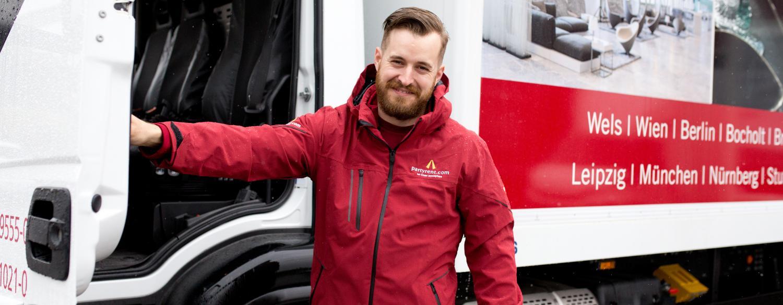 Interview mit Matthias Pucher, Lagerleiter und Lkw-Fahrer